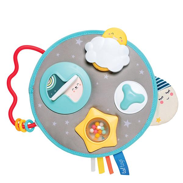 Купить Taf Toys 12375 Таф Тойс Музыкальный развивающий центр Луна, Развивающие игрушки для малышей TAF TOYS