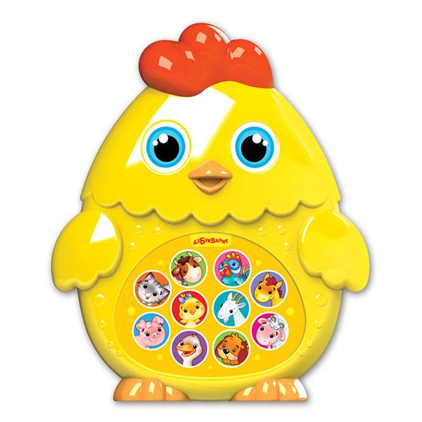 Купить Азбукварик 2216 Зверята-малышата Цыпленок , Музыкальная игрушка Азбукварик