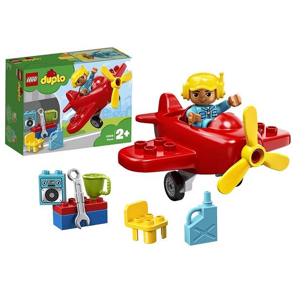 Купить LEGO DUPLO 10908 Конструктор ЛЕГО ДУПЛО Самолёт, Конструкторы LEGO