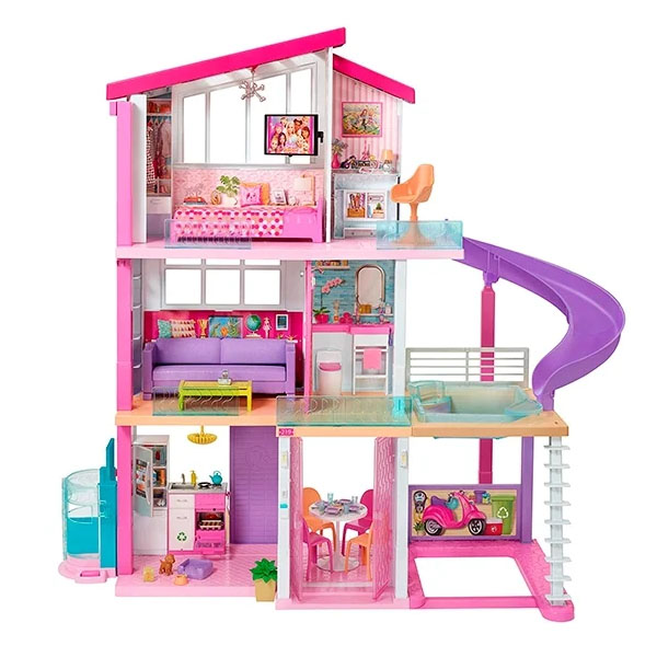 Mattel Barbie FHY73 Барби Дом мечты - Куклы и аксессуары
