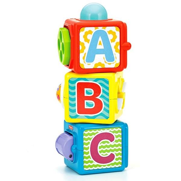 Купить Mattel Fisher-Price DHW15 Фишер Прайс Набор кубиков, Развивающие игрушки для малышей Mattel Fisher-Price