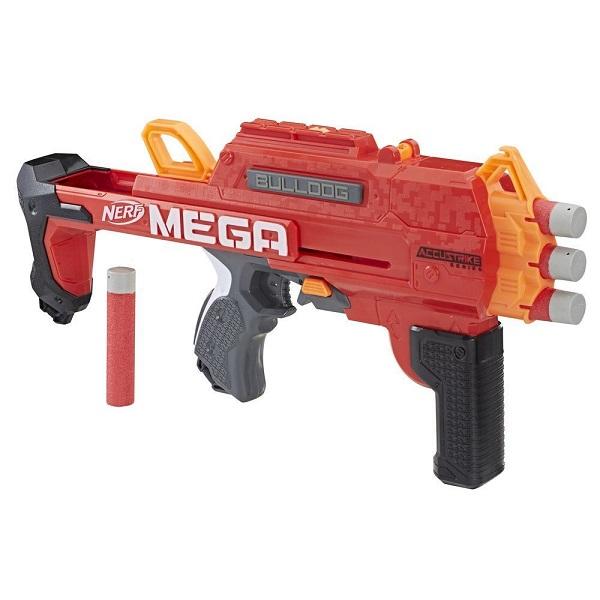 Купить Hasbro Nerf E3057 Нерф Бластер Мега Бульдог, Игрушечное оружие и бластеры Hasbro Nerf