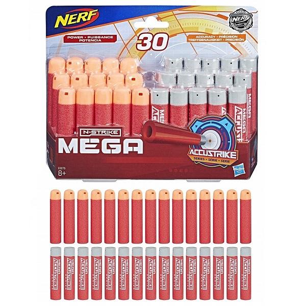 Купить Hasbro Nerf E2275 Стрелы Нерф Мега комбо 30 штук, Игрушечное снаряжение Hasbro Nerf