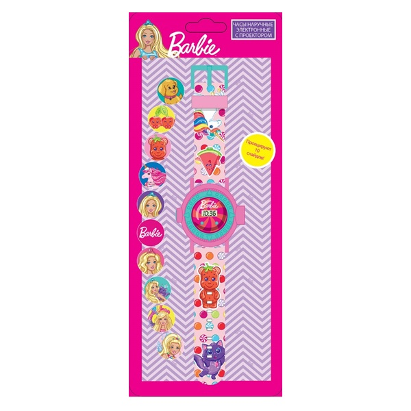 Fresh Trend BRB055 Часы с проектором Barbie - Косметика и аксессуары