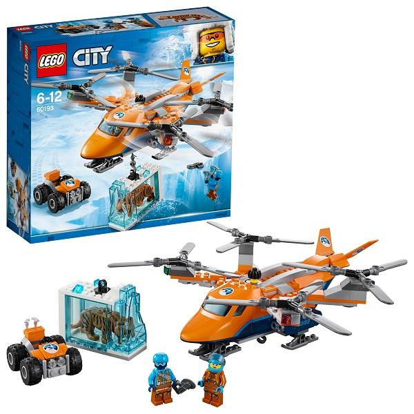 Купить LEGO City 60193 Конструктор ЛЕГО Город Арктическая экспедиция Арктический вертолёт, Конструкторы LEGO