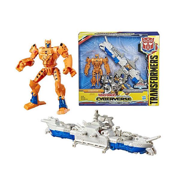 Игровые наборы и фигурки для детей Hasbro Transformers E4220/E5559 Трансформеры Спарк Армор Читор 18 см фото