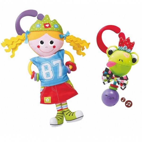 """Развивающие игрушки для малышей Yookidoo 40131 Набор игровой """"Принцесса и лягушка"""" фото"""