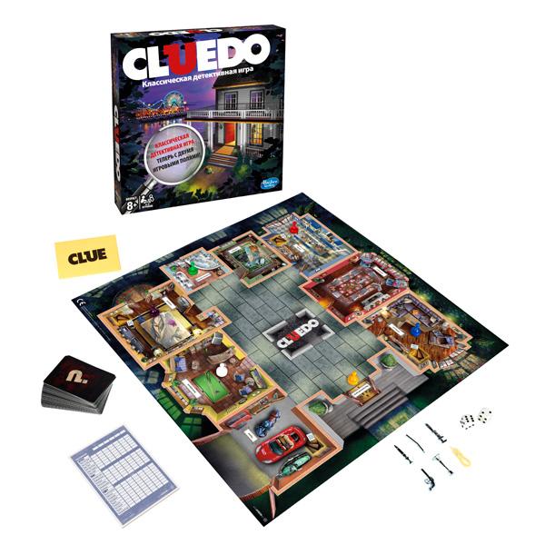 Купить Hasbro Other Games A5826 Настольная игра Клуэдо обновленная, Настольная игра Hasbro Other Games