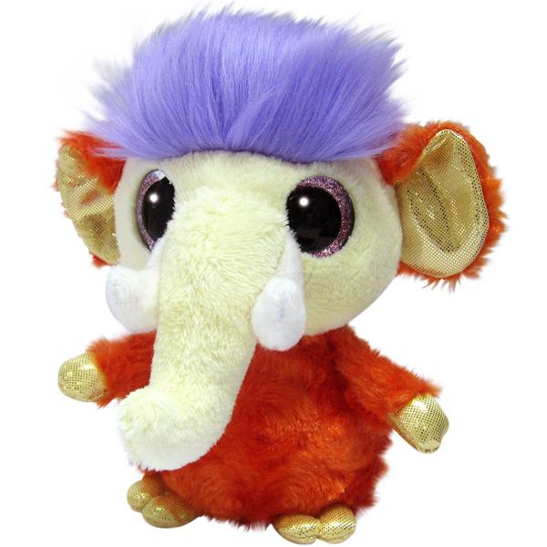 Купить Юху и его друзья 171220B Мамонтёнок, 12 см, Мягкие игрушки Aurora