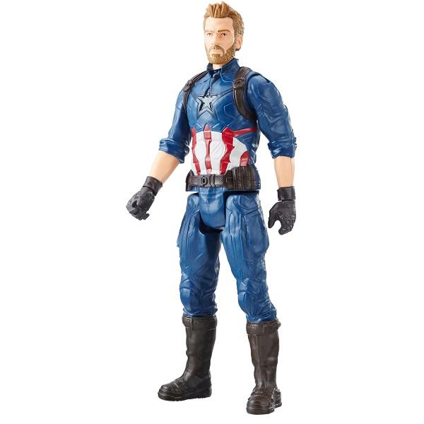 Купить Hasbro Avengers E0570/E1421 Фигурка МСТИТЕЛИ Титаны Капитан Америка, Игровые наборы и фигурки для детей Hasbro Avengers