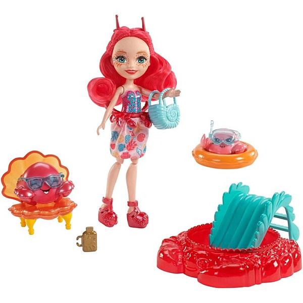 Купить Mattel Enchantimals FKV60 Морские подружки с тематическим набором, Куклы и пупсы Mattel Enchantimals