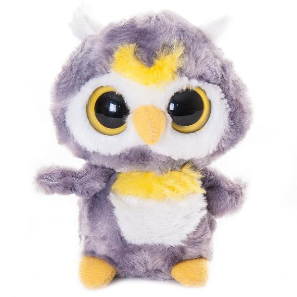 Купить Юху и его друзья 65-109 Сова, 12 см, Мягкая игрушка Aurora