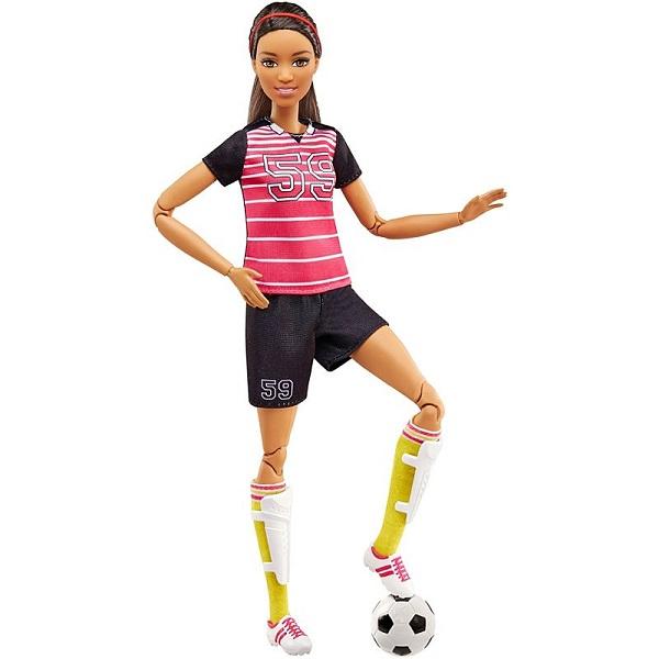 Mattel Barbie FCX82 Барби Футболистка - Куклы и аксессуары