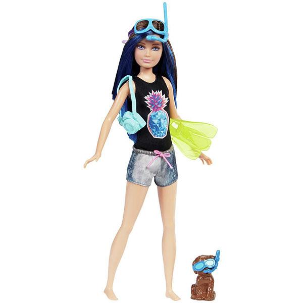 Купить Mattel Barbie FBD70 Барби Barbie Куклы-сестры из серии Морские приключения (брюнетка), Куклы и пупсы Mattel Barbie, Mattel Barbie
