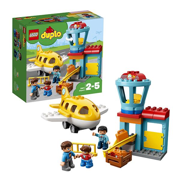 Купить LEGO DUPLO 10871 Конструктор ЛЕГО ДУПЛО Аэропорт, Конструкторы LEGO