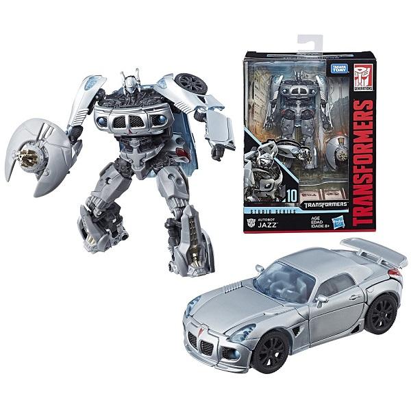 Hasbro Transformers E0701/E0745 Трансформер Коллекционный Автобот Джаз 20 см, арт:155804 - Трансформеры, Игровые наборы