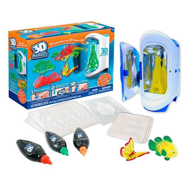 Купить 3D Magic 81000 Набор для создания объемных моделей 3D Maker, Набор для творчества 3D Magic