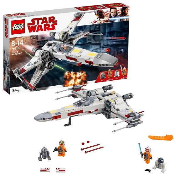 Lego Star Wars 75218 Конструктор Лего Звездные Войны Звёздный истребитель типа Х, арт:154817 - Звездные войны, Конструкторы LEGO