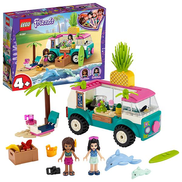 Купить LEGO Friends 41397 Конструктор ЛЕГО Подружки Фургон-бар для приготовления сока, Конструкторы LEGO