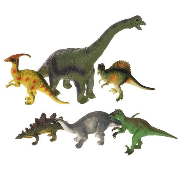 Megasaurs SV12927 Мегазавры Игровой набор динозавров 6 штук (в ассортименте) - Игровые наборы