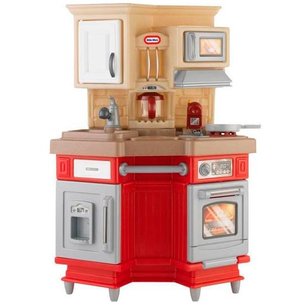 Детская кухня LittleTikes крупногабарит Little Tikes 484377 Литл Тайкс Кухня, звук. эф-ты, красная