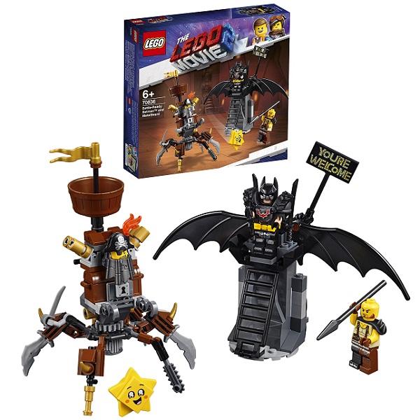 Купить LEGO Movie 2 70836 Конструктор ЛЕГО Фильм 2 Боевой Бэтмен и Железная борода, Конструкторы LEGO