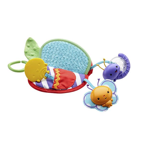 Купить Mattel Fisher-Price DFP88 Фишер Прайс Яблочко - прорезыватель (разнофактурное), Игрушка для малышей Mattel Fisher-Price