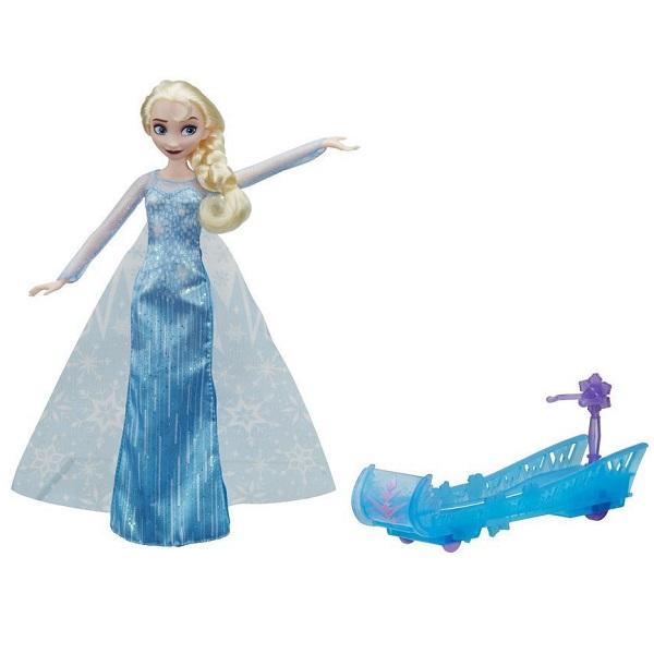 Hasbro Disney Princess E0086 Кукла Эльза и санки - Куклы и аксессуары