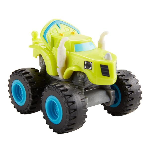 Mattel Blaze DKV86 Вспыш и его друзья, Зэг, арт:144363 - Машинки из мультфильмов, Транспорт