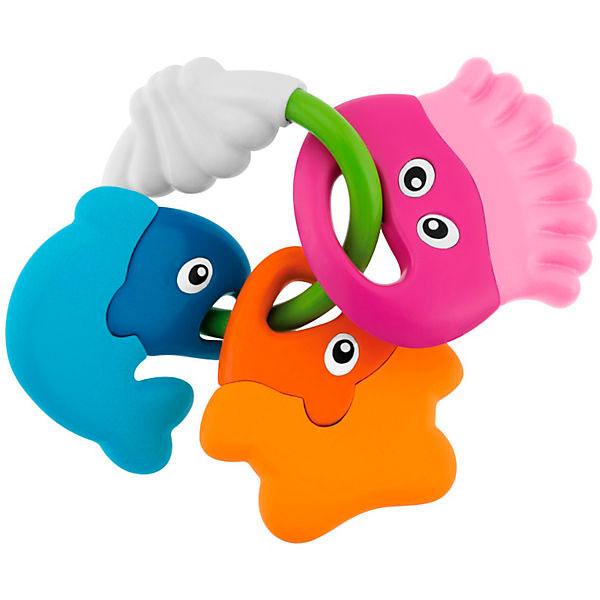 Купить CHICCO TOYS 59560 Погремушка в форме рыбок Морские животные от 3 месяцев, Развивающие игрушки для малышей CHICCO TOYS