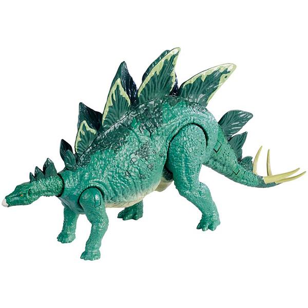 Купить Mattel Jurassic World FMW88 Фигурки динозавров Боевой удар Stego, Фигурка Mattel Jurassic World