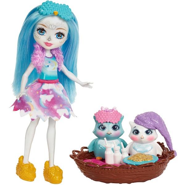 Купить Mattel Enchantimals FCG78 Игровой набор Сказки на ночь , Игровые наборы Mattel Enchantimals, Mattel Enchantimals