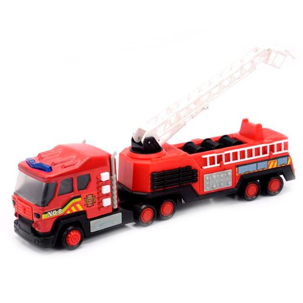 Купить Soma 71520 Пожарная машина со световым и звуковым эффектом 28 см, Машинка New Bright&Soma