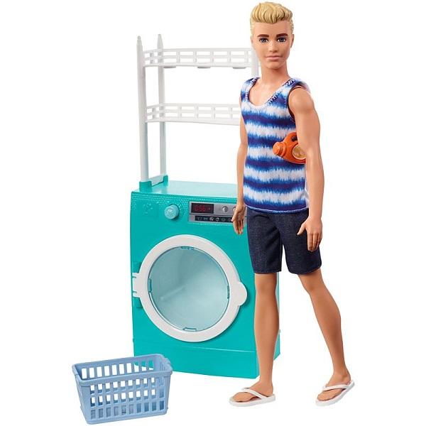 Купить Mattel Barbie FYK52 Барби Кен и набор мебели, Куклы и пупсы Mattel Barbie