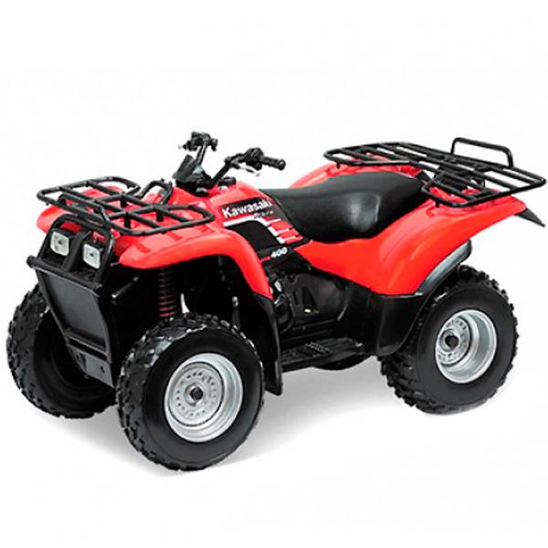Купить Welly 2652 Велли Модель квадроцикла 1:18 KAWASAKI, Машинка Welly