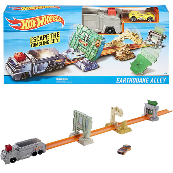 Игровые наборы Mattel Hot Wheels - Автотреки и машинки Hot Wheels, артикул:149089