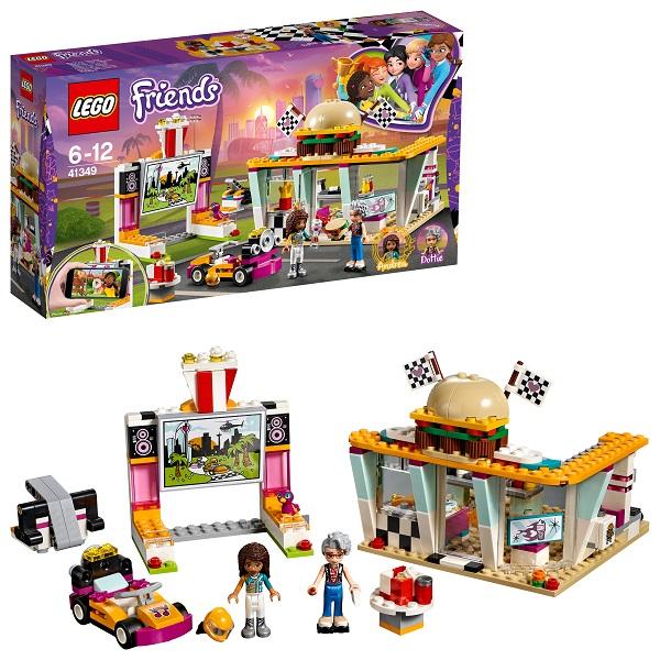 Lego Friends 41349 Конструктор Лего Подружки Передвижной ресторан, арт:154210 - Подружки, Конструкторы LEGO