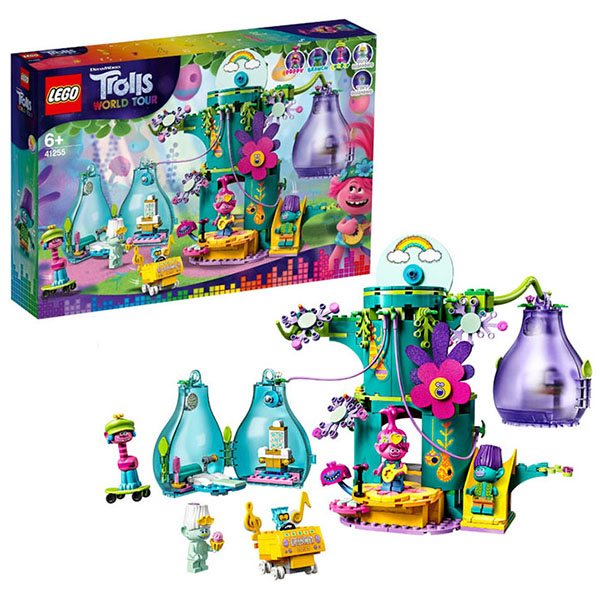 Купить LEGO Trolls 41255 Конструктор ЛЕГО Тролли Праздник в Поп-сити, Конструкторы LEGO