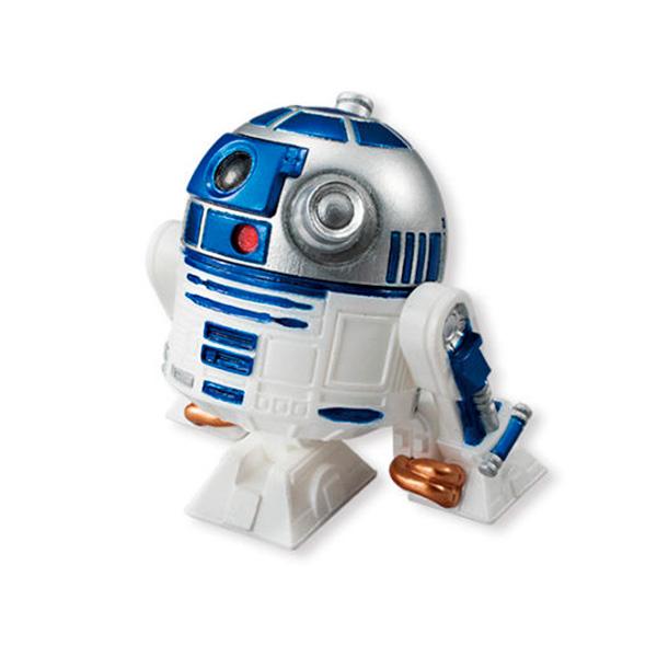 Купить Star Wars Bandai 84627 Звездные Войны Сборная модель Фигурка R2-D2 5 см, Фигурка Star Wars Bandai