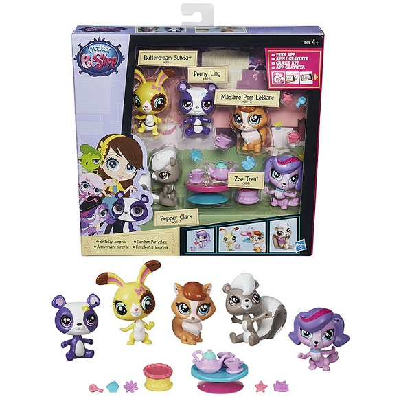 Купить Hasbro Littlest Pet Shop B0282 Литлс Пет Шоп Игровой мини-набор (в ассортименте), Игровые наборы Hasbro Littlest Pet Shop
