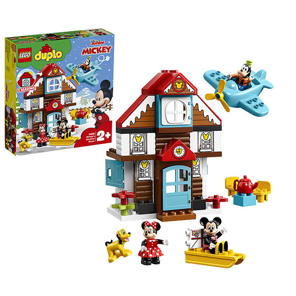 Купить LEGO DUPLO 10889 Конструктор ЛЕГО ДУПЛО Летний домик Микки, Конструктор LEGO