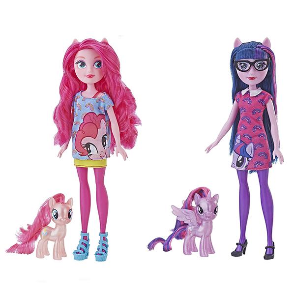 Купить Hasbro My Little Pony E5657 Май Литл Пони Игровой набор ПОНИ и кукла Девочки Эквестрии, Игровые наборы и фигурки для детей Hasbro My Little Pony