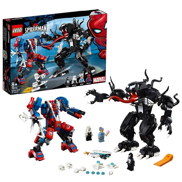 Купить Lego Super Heroes 76115 Конструктор Лего Человек-паук: Человек-паук против Венома, Конструкторы LEGO