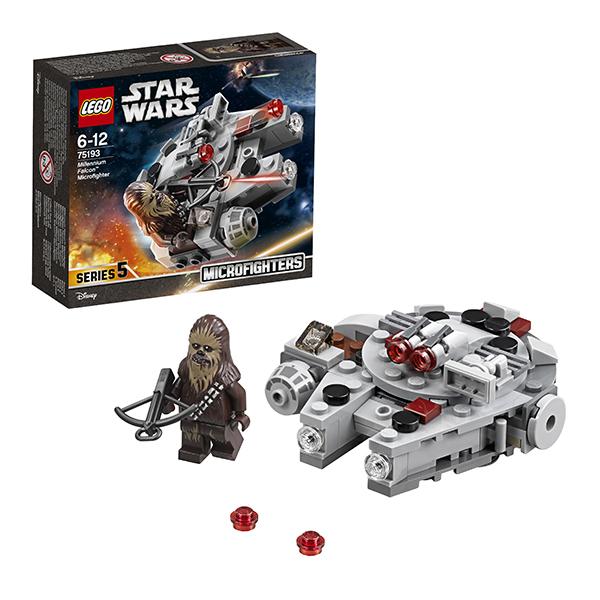 Купить Lego Star Wars 75193 Лего Звездные Войны Микрофайтер Сокол Тысячелетия, Конструкторы LEGO