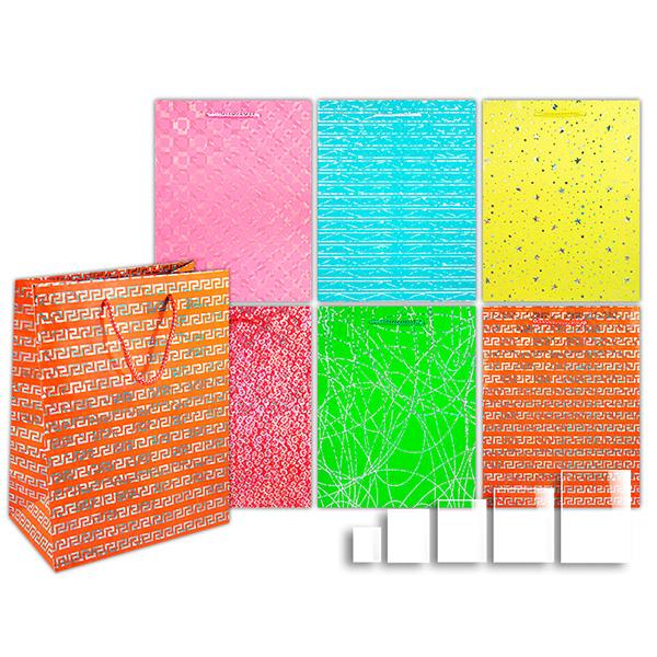 Пакет подарочный бумажный Блеск TZ6453 (32*26*9 см)