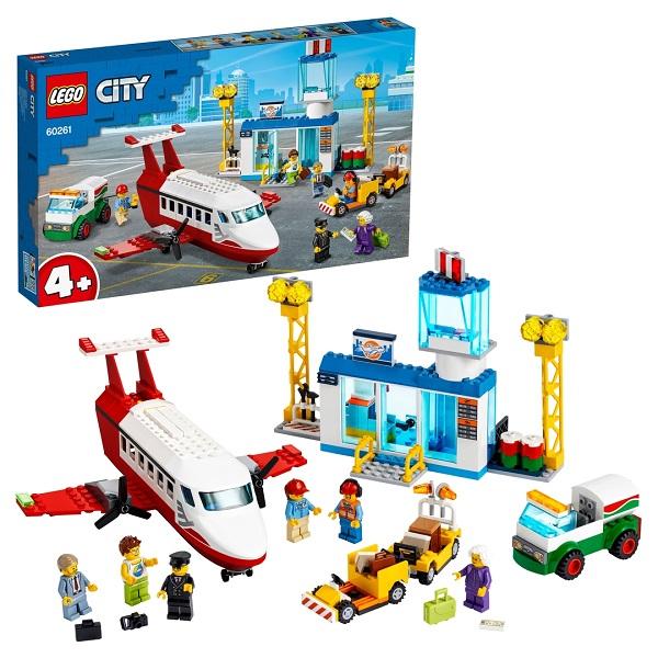 Купить LEGO City 60261 Конструктор ЛЕГО Город Airport Городской аэропорт, Конструкторы LEGO