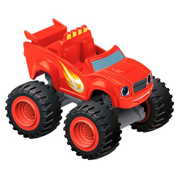 Mattel Blaze DKV83 Вспыш и его друзья, Вспыш, арт:144372 - Машинки из мультфильмов, Транспорт