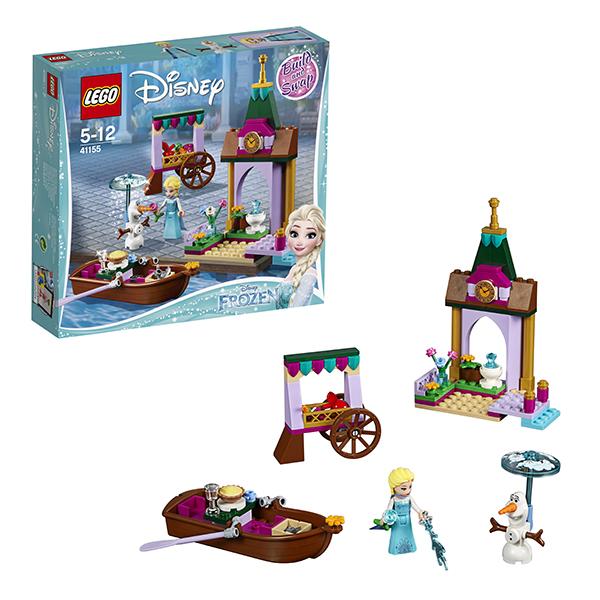 Конструкторы LEGO Disney Princess 41155 Конструктор ЛЕГО Принцессы Дисней Приключения Эльзы на рынке фото