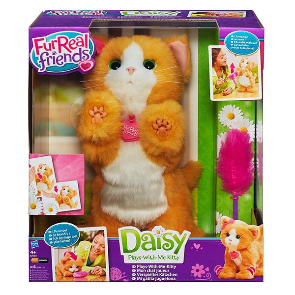 Купить Hasbro Furreal Friends A2003 Дэйзи игривый котенок, Интерактивная игрушка Hasbro Furreal Friends