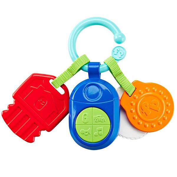Купить Mattel Fisher-Price DFP52 Фишер Прайс Прорезыватель Ключики , Игрушка для малышей Mattel Fisher-Price